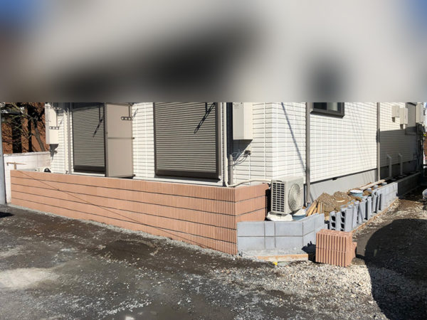 川越市のフェンス工事の比較1-4