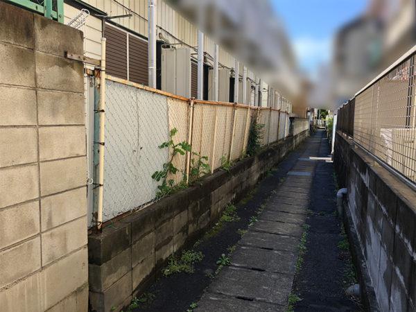 川越市のフェンス工事の比較1-2