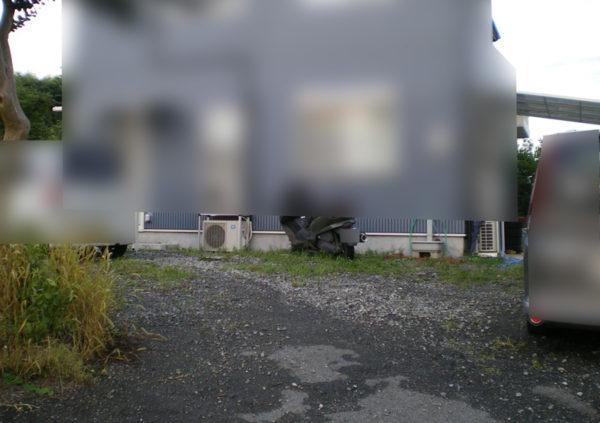 土間コンクリート工事施工前の様子1-2