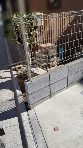 小規模ブロック施工後7