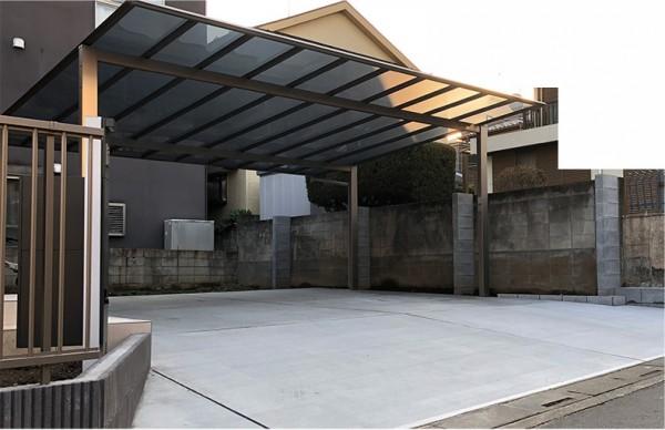 埼玉県三郷市 土間コンクリート工事・カーポート新設工事のサムネイル