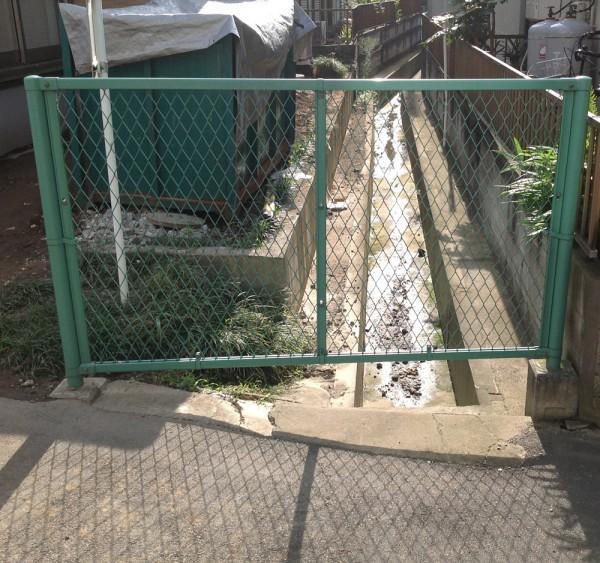 川越市小仙波 フェンス工事のサムネイル