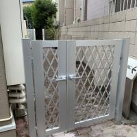 文京区 W様邸 アパートの門扉新設のサムネイル