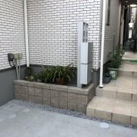 川越市 A様邸 フェンス.駐車場(玄関前).機能門柱の工事のサムネイル