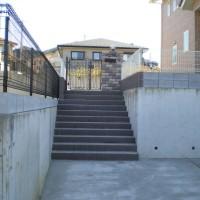 川越市小仙波 新築エクステリア(玄関アプローチ全般)のサムネイル