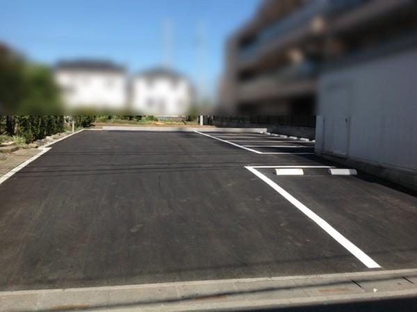 所沢市 駐車場の舗装工事