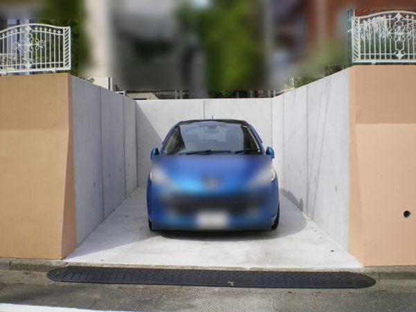 所沢市 擁壁の解体・駐車場新設工事
