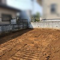 川越市山田 砂利敷き工事のサムネイル