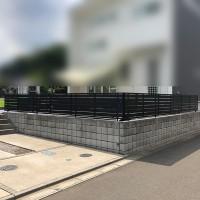 川越市西川越 目隠しフェンスの設置のサムネイル