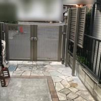 埼玉県川越市 目隠しフェンスと門扉の工事のサムネイル