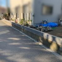 所沢市狭山ヶ丘 メッシュフェンスと門扉の設置工事のサムネイル