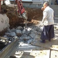 所沢市  土間コンクリート・ブロック塀の補修工事のサムネイル