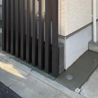 西東京市 目隠しフェンス(スリット)工事のサムネイル