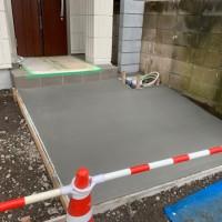 所沢市 宅配ボックスの設置と土間コンクリート工事のサムネイル