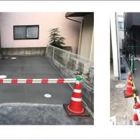 川越市 広栄町 コンクリート・玄関ポーチ・目隠しフェンスの工事のサムネイル