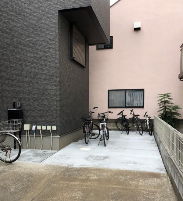 川越市 広栄町 コンクリート・玄関ポーチ・目隠しフェンスの工事