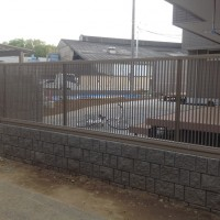 川越市 フェンス工事【新築エクステリア】のサムネイル