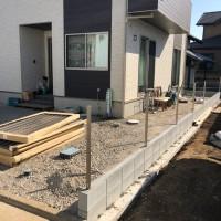川越市 土間コンクリート・手すり・フェンス工事のサムネイル