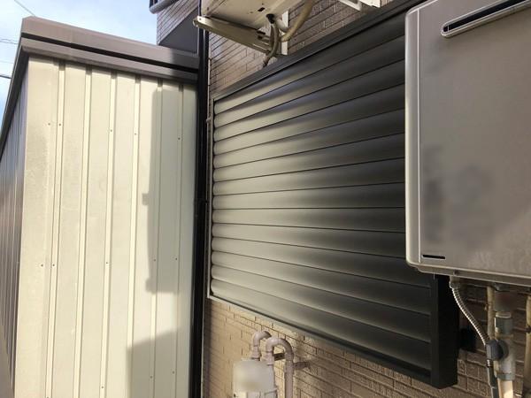 埼玉県越生市 窓の目隠しルーバーの設置のサムネイル