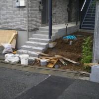 川越市アパートの土間コンクリート工事のサムネイル