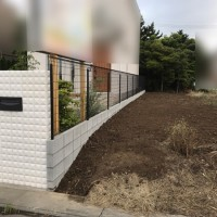 川越市 ブロック塀フェンスのサムネイル