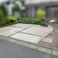 玄関アプローチ(通路)の工事 川越市のサムネイル
