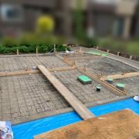 駐車場工事(土間コンクリート) 川越市のサムネイル