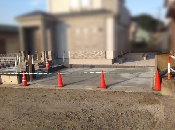 日高市の土間コンクリート工事
