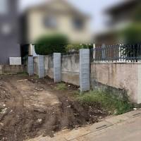 川越市 ブロック塀の補強工事のサムネイル