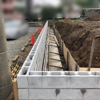 所沢市 目隠しフェンスの設置工事のサムネイル