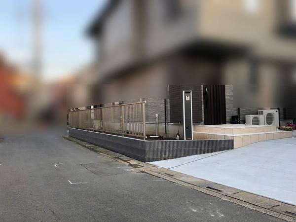 川越市の玄関まわりのエクステリア工事のサムネイル