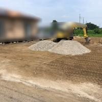 川越市 砂利敷工事のサムネイル