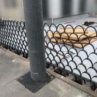 所沢市 おしゃれな境界線フェンスの設置工事のサムネイル
