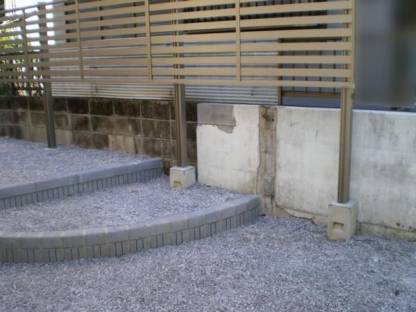 川越市 砂利で庭をつくりました!